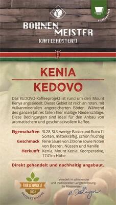 "Kenia Kedovo Projektkaffee- Gold prämiert 2021 ""fair-direkt-nachhaltig""- Röstkaffee"