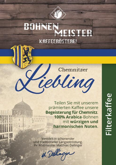 Chemnitzer Liebling -Goldmedaille 2017-