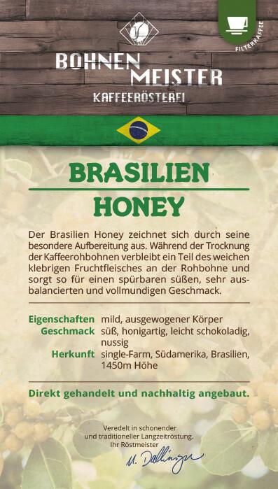 Brazil Honey - Der Milde- Röstkaffee-