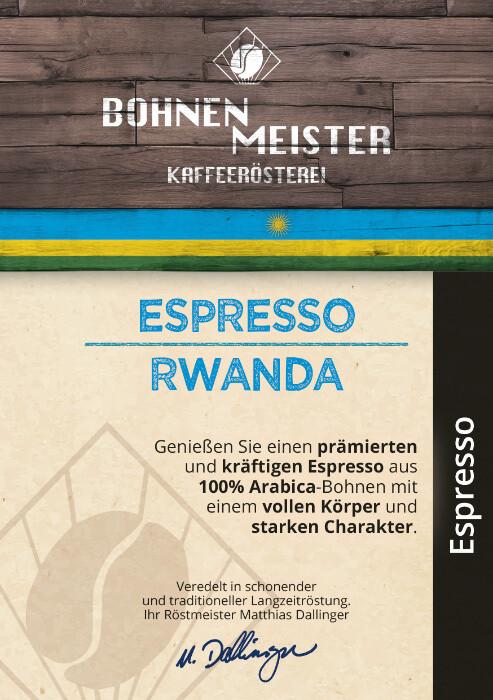 Espresso Rwanda -Goldmedaille 2021-