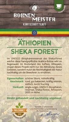 Äthiopien Sheka Forest- Projektkaffee fair-direkt-nachhaltig-