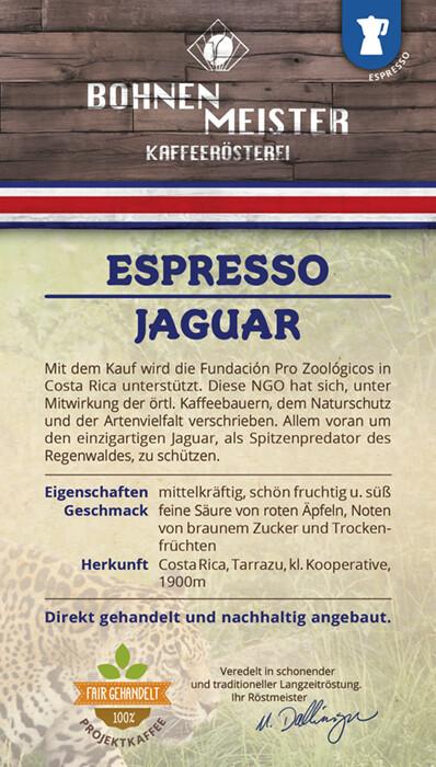 "Espresso Jaguar Honey ""fair-direkt-nachhaltig"""