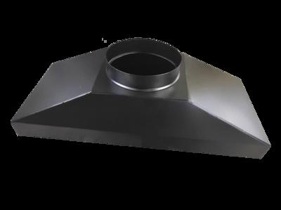 Зонт вытяжной для Cryptone-12 (размер: 680х340х305) (врезка D200)