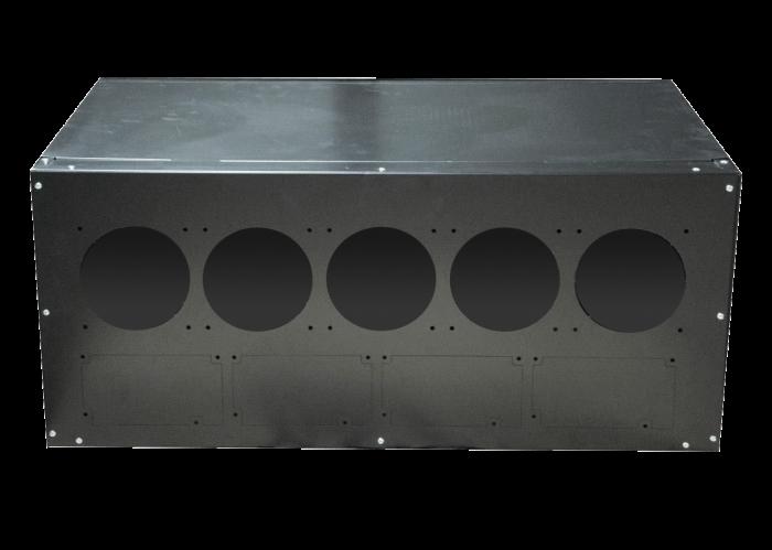 Серверный корпус Cryptone-12 (680х440х300мм)