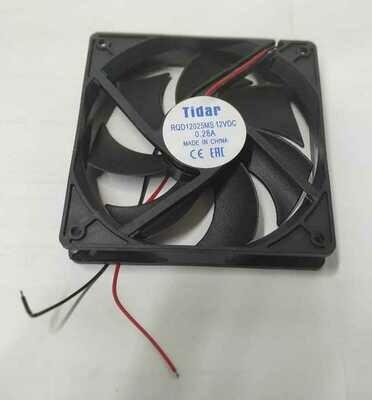 Вентилятор Tidar 120x120х25мм 0,28А 2300об. 80 CFM (2,27 м3/мин), 34 дБ