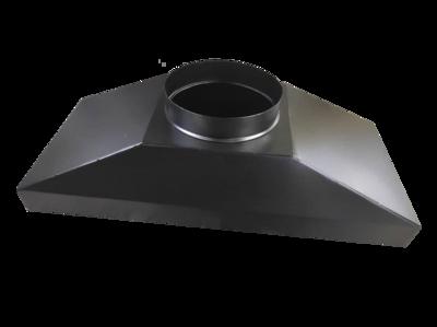 Зонт вытяжной для Cryptone-21/6 (6-8 GPU) 530х305 врезка D200мм