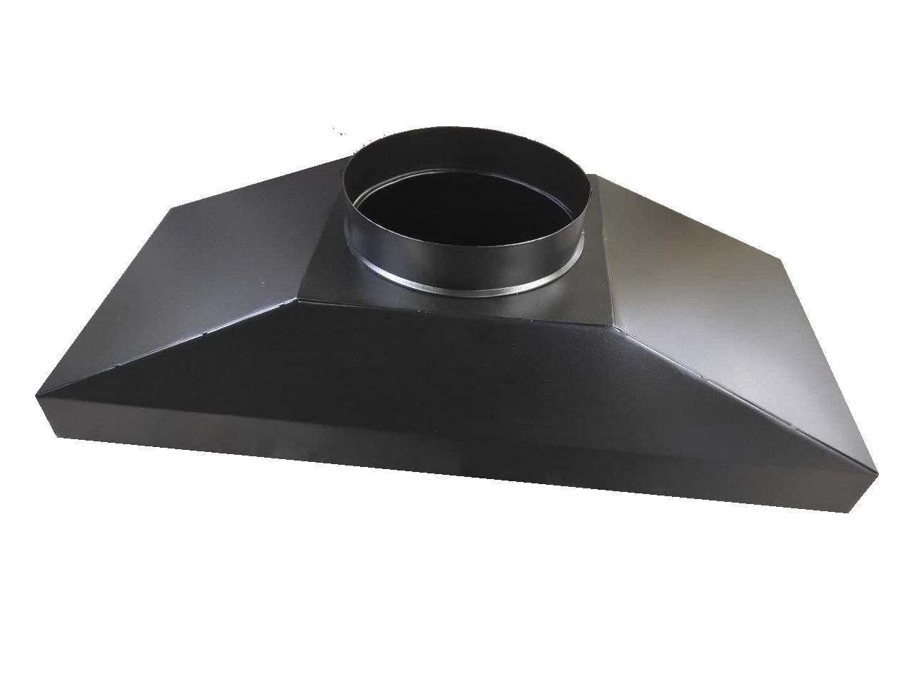 Зонт вытяжной для Cryptone-21/10 (8-13 GPU) 850х305 врезка D200мм