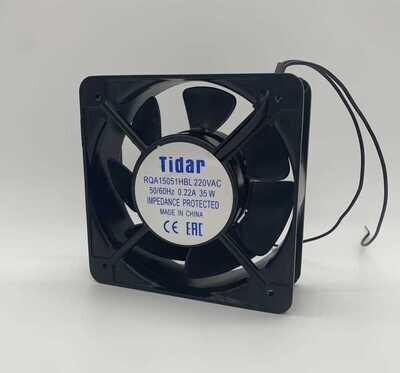 Вентилятор Tidar 150х150х50мм 220В 0,22A 35W (Тихие и мощные)