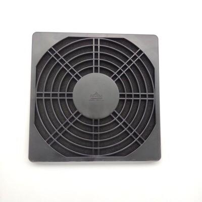 Решетка для вентилятора 150х150мм, с фильтром, пластик