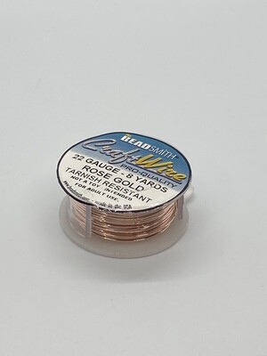 8854 22 Gauge Rose Gold