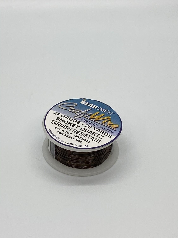 8852 24 Gauge Smokey Qtz wire