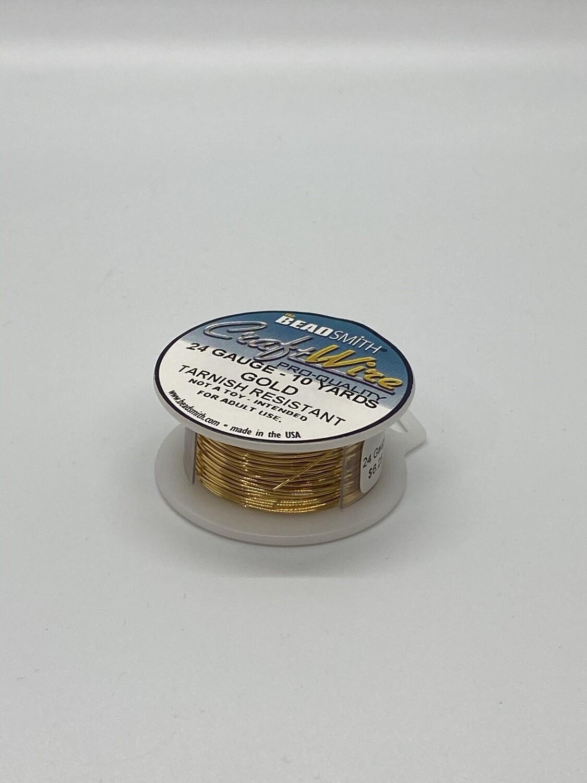 4554 24 Gauge Gold Wire
