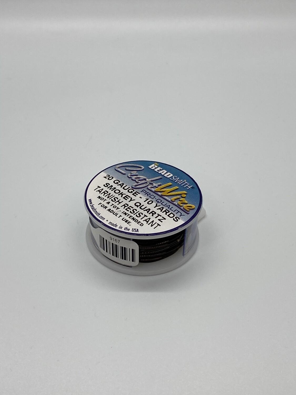 9167 20 Gauge Smokey Qtz wire