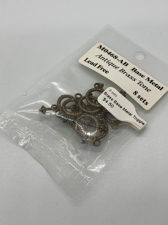 7922 Brass Base Metal Toggle