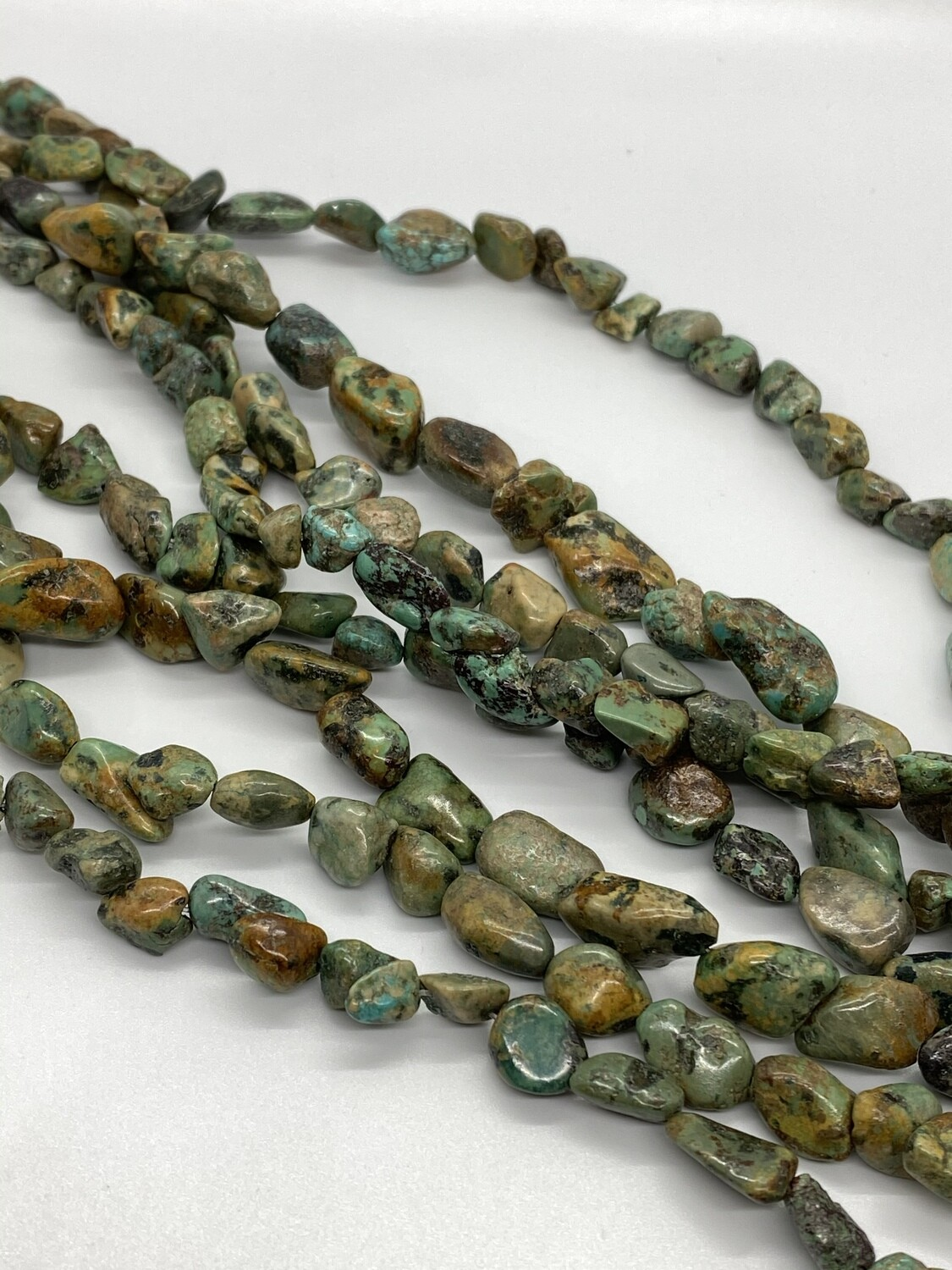 9056 Turquoise Nuggets 8-10mm