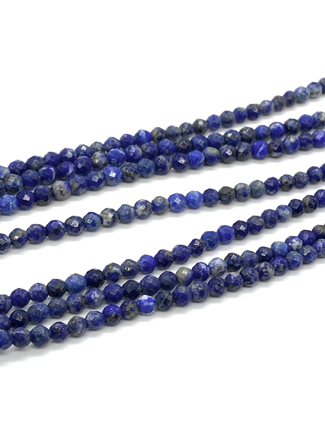9380 Lapis Faceted 4mm