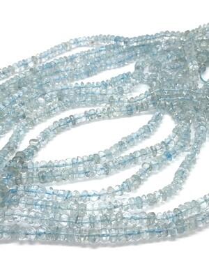 6382 Blue Topaz Heishi Rondelle 6mm