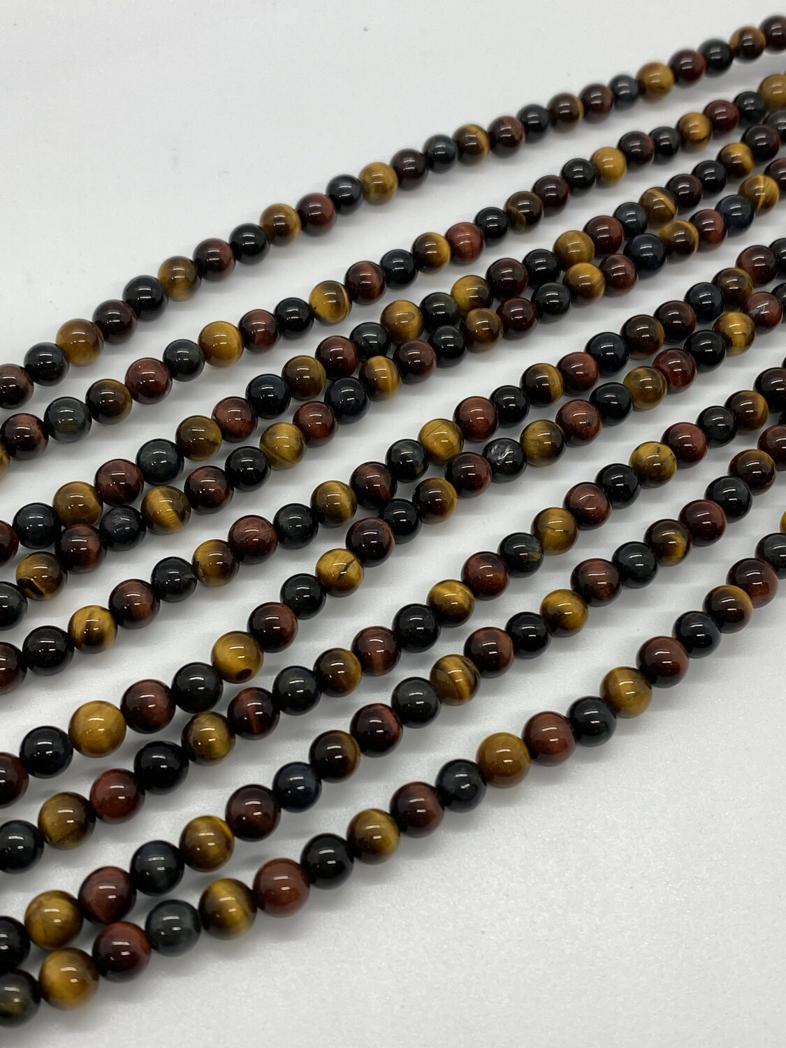 9586 Tiger's Eye Multi 6mm
