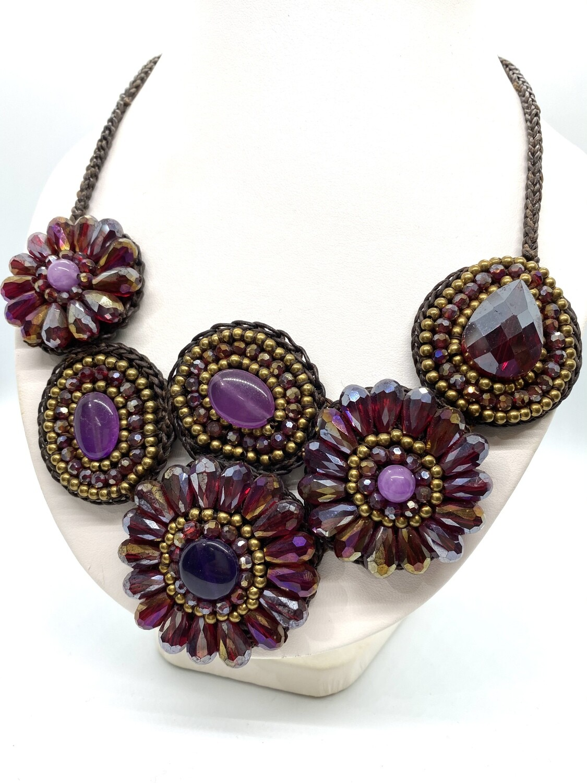 4152 Bali Boho  Beaded Necklace