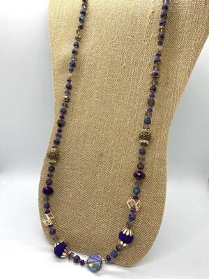 9504 Purple Passion Necklace