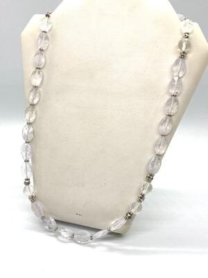 5979 Quartz Crystal Necklace  April