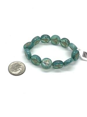 9454 Bee Coin Aqua Platinum