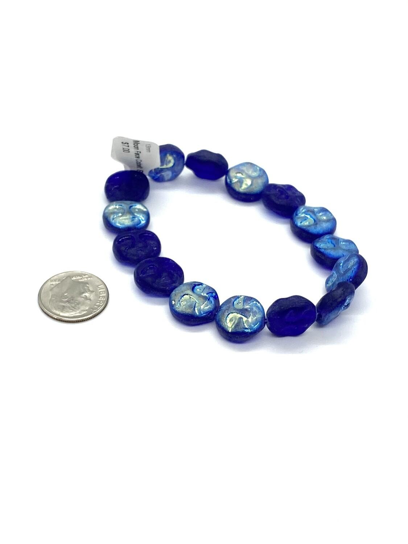 9465 Moon Face Cobalt Blue
