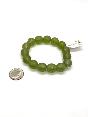 3563 Czech 12mm faceted round