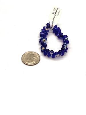 9473 Pressed Drop Cobalt Blue