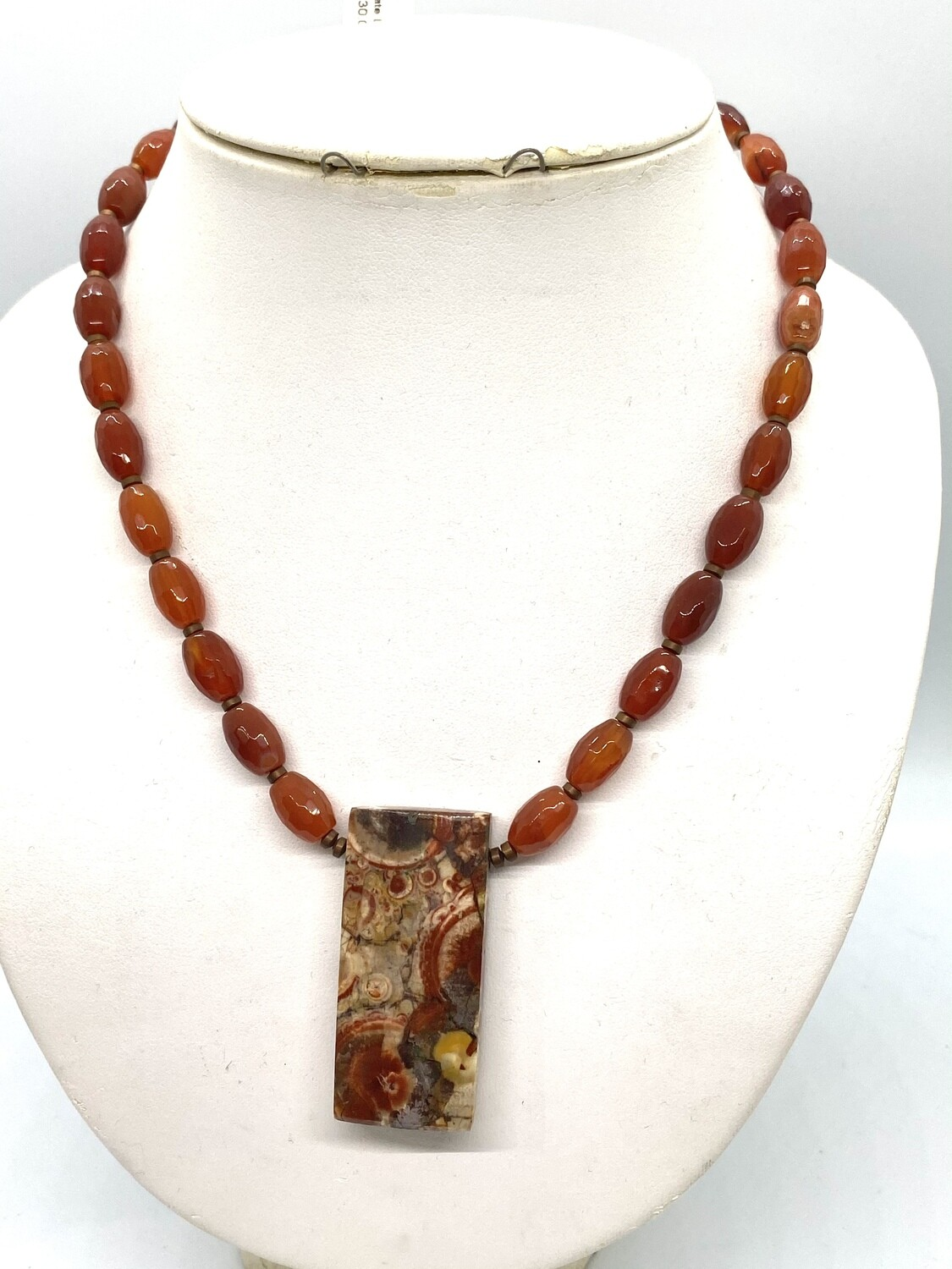 8445 Agate Lovers Necklace