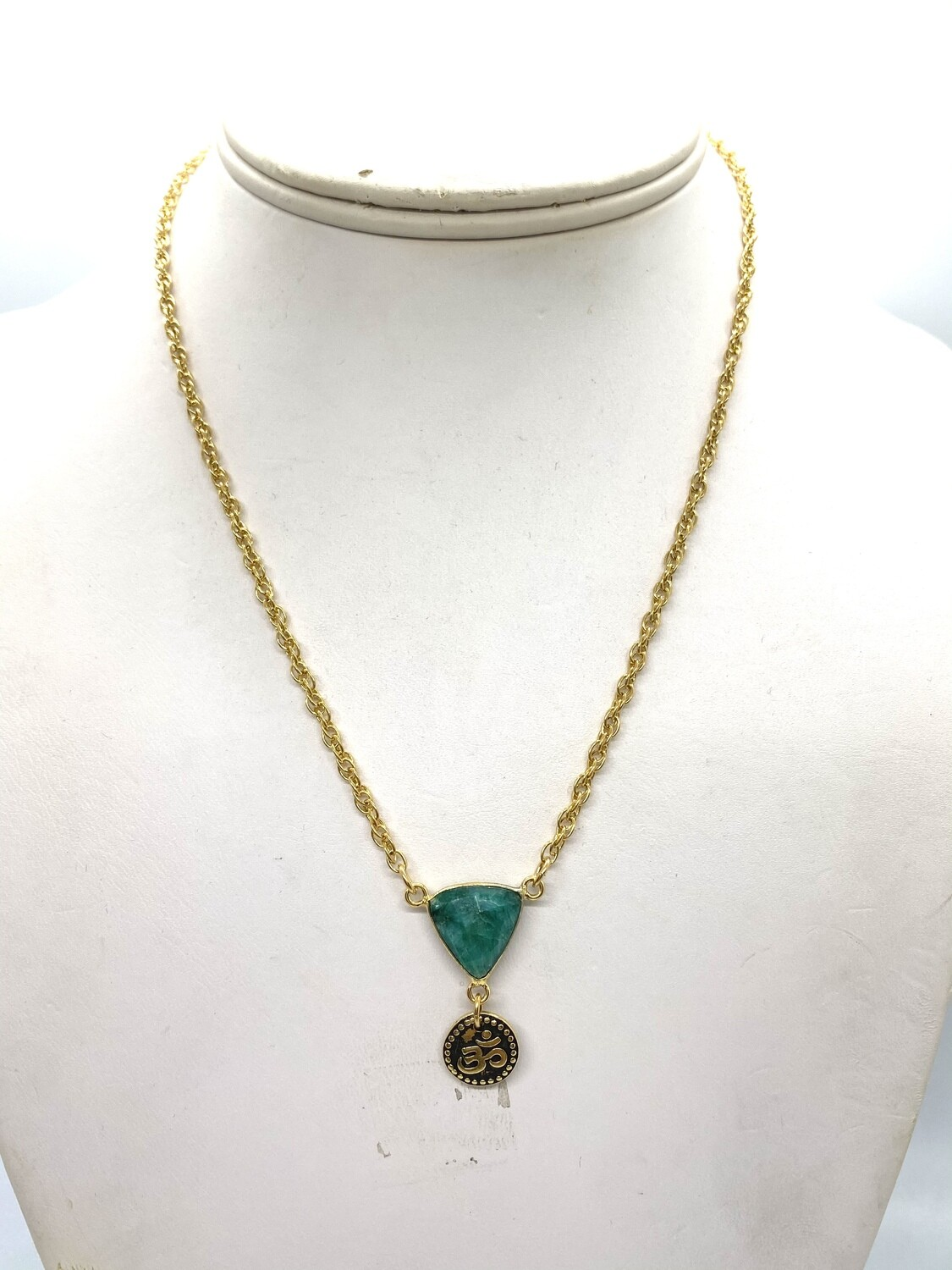 9388 Emerald Stainless steel chain