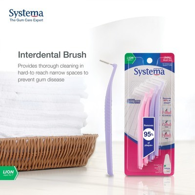 SYSTEMA INTERDENTAL BRUSHES  TWO (2) PACKETS for $14.95