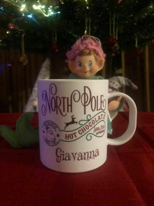 Christmas North Pole Hot Chocolate Polymer Mug
