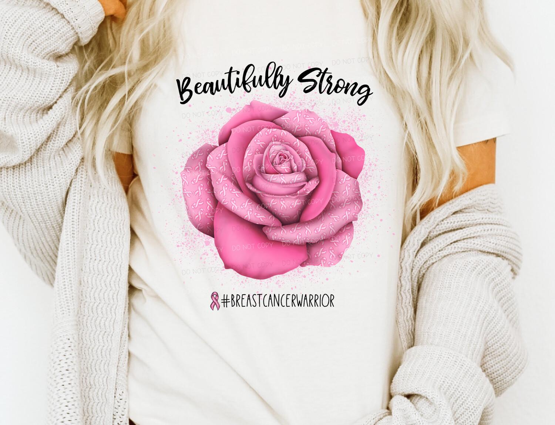 Beautifully Strong - Cancer Awareness Tee