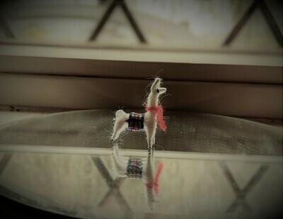 Genuine Peruvian Llama Lapel Pins