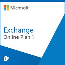 Microsoft Online Exchange Plan 1