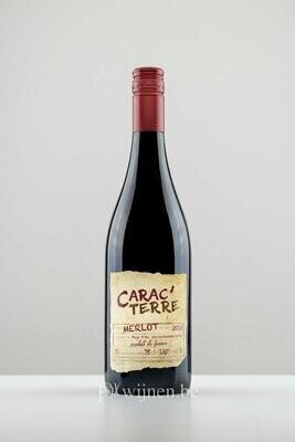 Fles rode wijn: Carac'Terre Rouge
