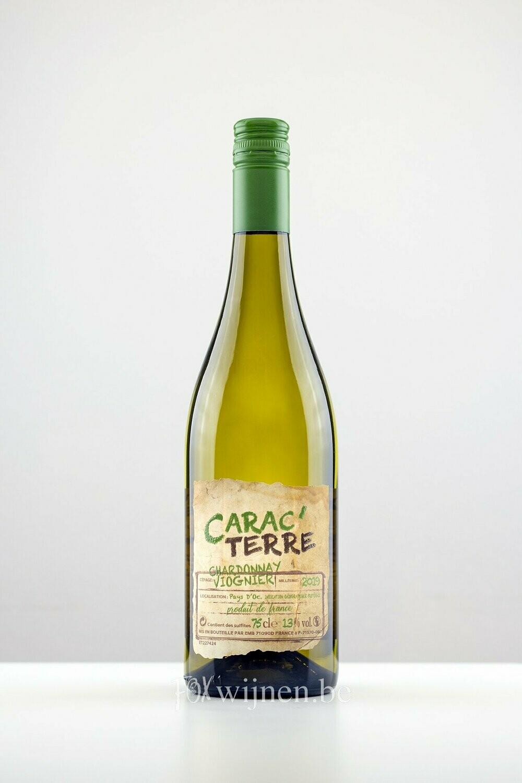 Fles witte wijn: Carac'Terre Blanc