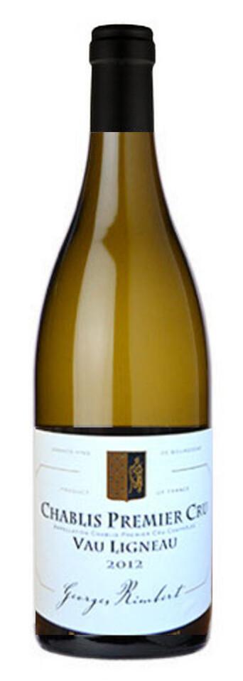 12 Bottles - Chablis 1er Cru Vau Ligneau George Rimbert 2018