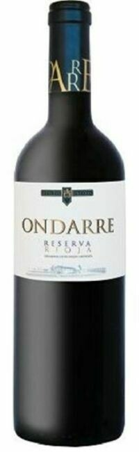 12 Bottles - Ondarre Rioja Reserva 2016