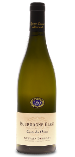 12 Bottles - Dussort Bourgogne Blanc 'Cuvee des Ormes' 2017
