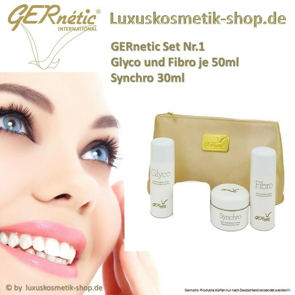 GERnetic SetNr.1 Fibro 50ml,Glyco 50ml Synchro 30ml mit Tasche