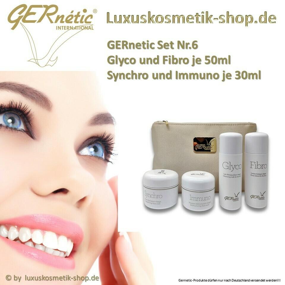 GERnetic SetNr.6 Fibro 50ml,Glyco 50ml Immuno 30ml Synchro 30ml Tasche