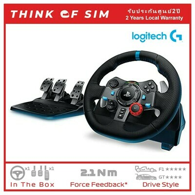 Logitech G29 Driving Force Racing Wheel For Sim Racing