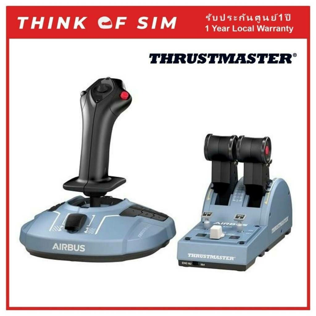 Thrustmaster TCA Officer Pack Airbus Edition Flight Stick Flight Simulator