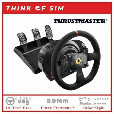 Thrustmaster T300 Ferrari Integral Racing Wheel Alcantara Edition For Sim Racing