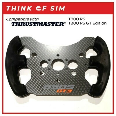 GT3 F1 Wheel Add-On Mod for Thrustmaster T300 RS T300 RS GT (MCL)