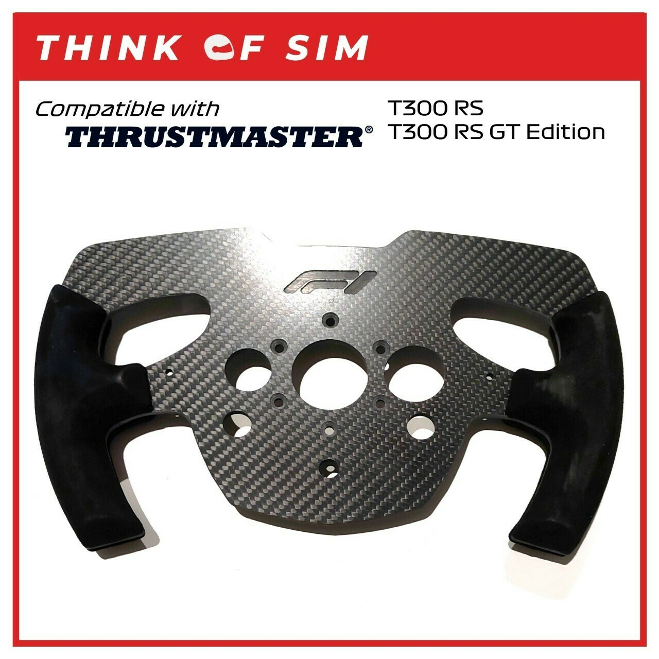 Formula One F1 Wheel Add-On Mod for Thrustmaster T300 RS T300 RS GT