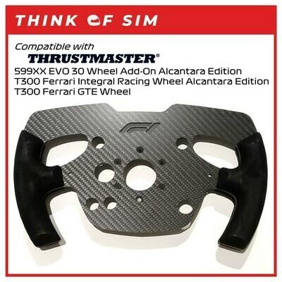 Formula One F1 Wheel Add-On Mod for Thrustmaster T300 Ferrari
