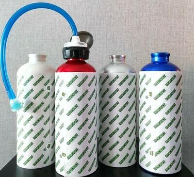 Hydrorace Drink Bottle for Motor Sports (Silver No Logo)
